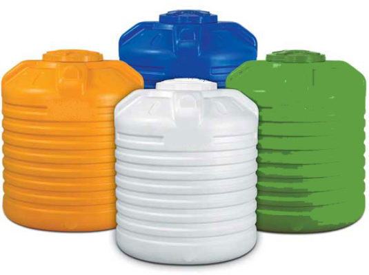 Color Water Tanks